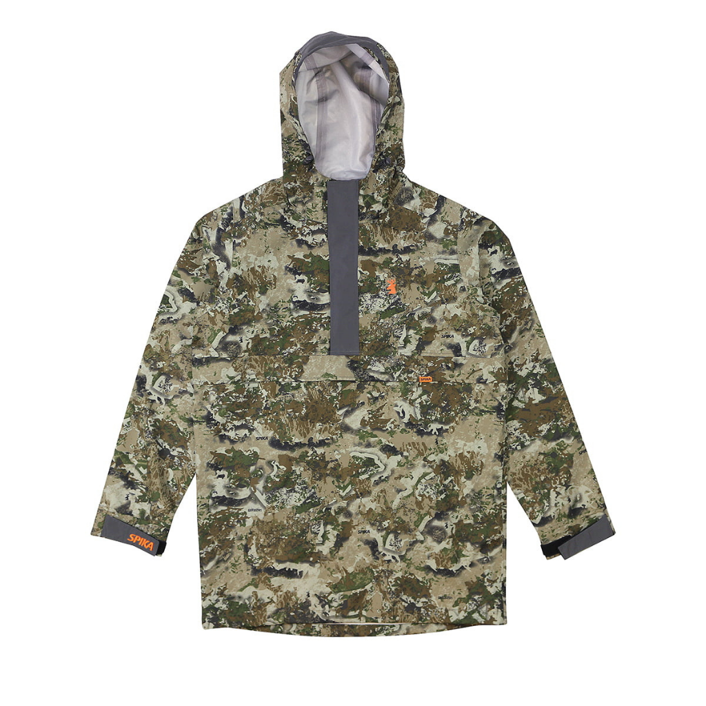 SPIKA BUCKLAND RAIN SHIELD JACKET BIARRI CAMO