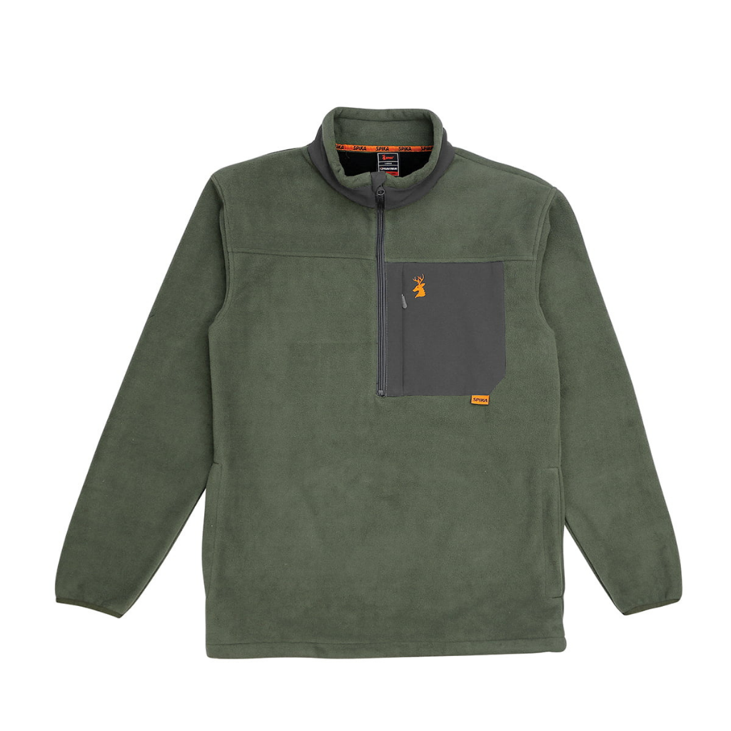 SPIKA HIGHPOINT HEATFLEECE JUMPER OLIVE