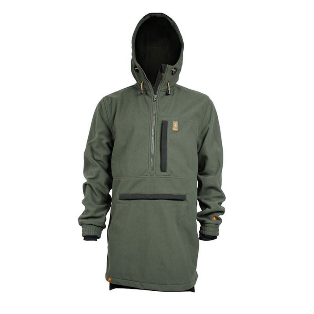 SPIKA ELITE ANORAK FLEECE JACKET OLIVE