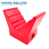BOW V BLOCK RED POLY SOFT 3 INCH