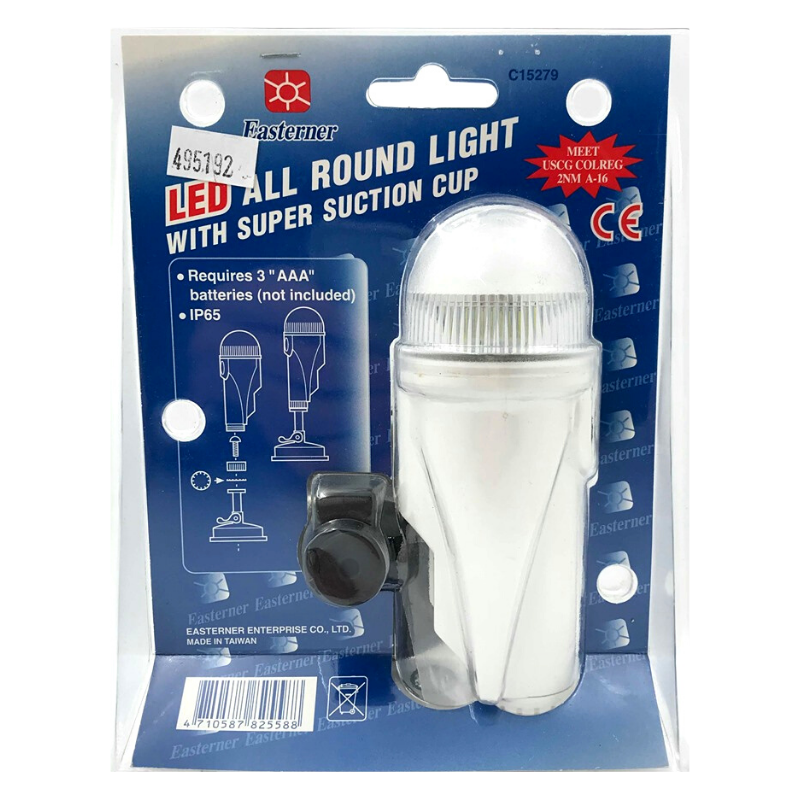 EASTERNER LED ALL ROUND STERN LIGHT WITH SUCTION CUP