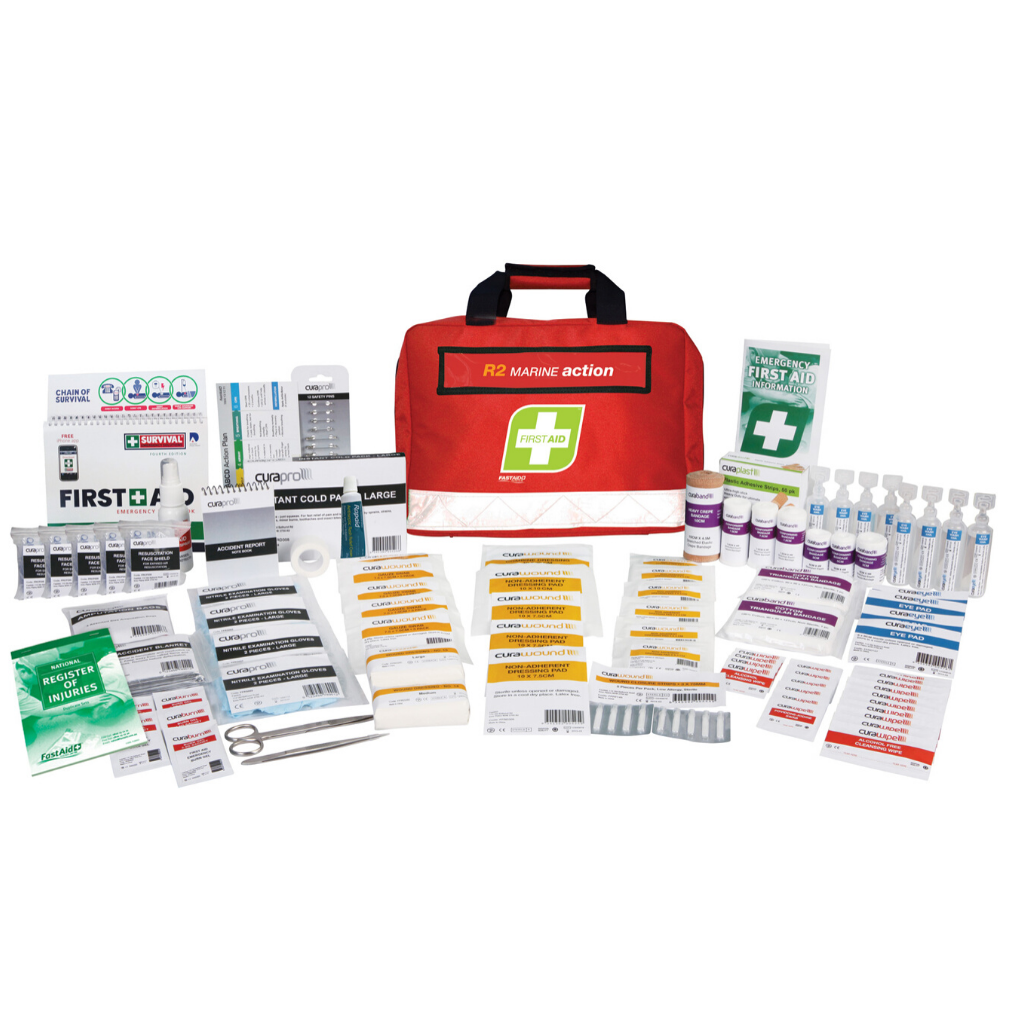 FASTAID FIRST AID KIT R2 MARINE ACTION KIT SOFT PACK