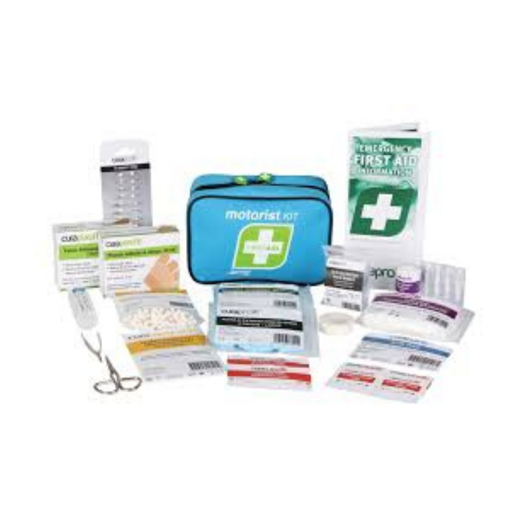 FASTAID FIRST AID KIT MOTORIST KIT SOFT PACK