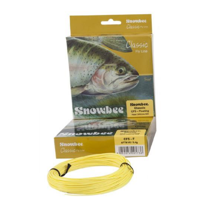 SNOWBEE CLASSIC FLY LINE CF5 FLOATING WF