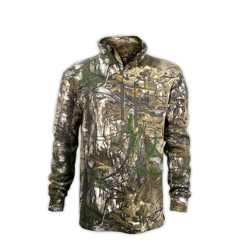 SPIKA BASECAMP FLEECE JUMPER CAMO