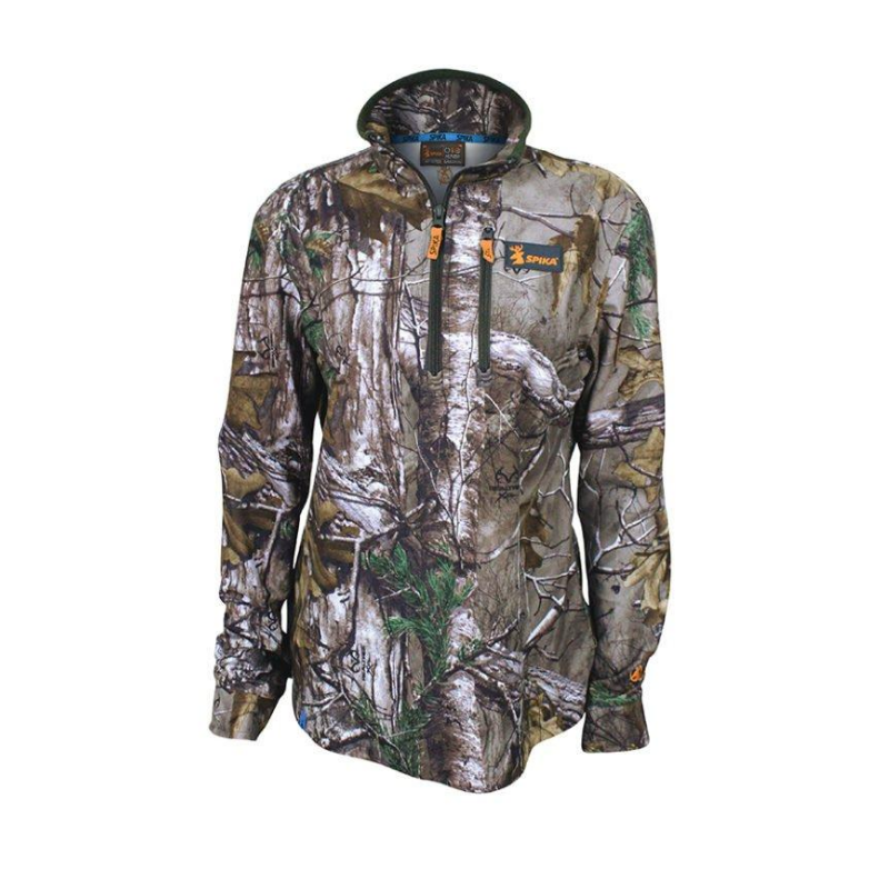 SPIKA Womens Tracker Long Sleeve Camo