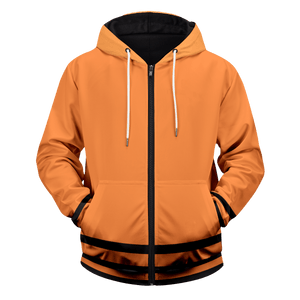 7th Hokage Unisex Zipped Hoodie - Fandomaniax-Store