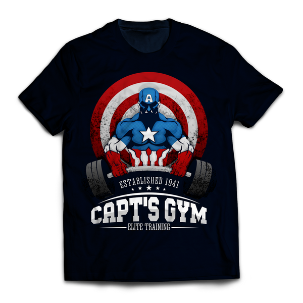 Caps Gym Unisex T-Shirt