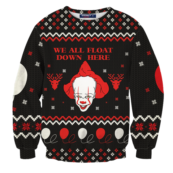 We All Float Unisex Wool Sweater
