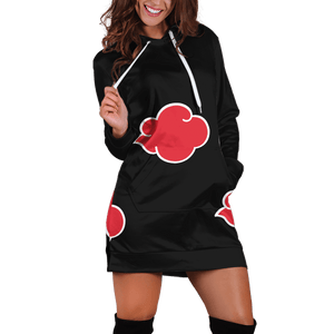 Akatsuki Hoodie Dress - Fandomaniax-Store