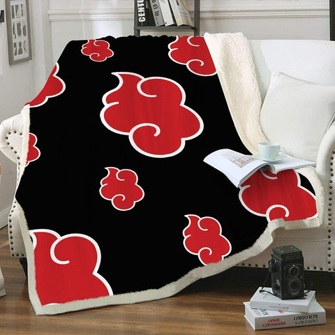 Akatsuki Throw Blanket - Fandomaniax-Store