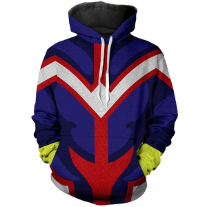 All Might Unisex Pullover Hoodie - Fandomaniax-Store