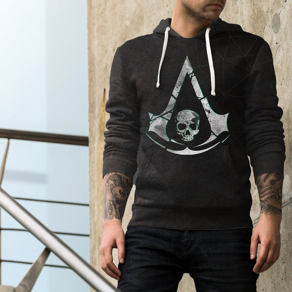 Assassins Creed 4 Unisex Pullover Hoodie - Fandomaniax-Store