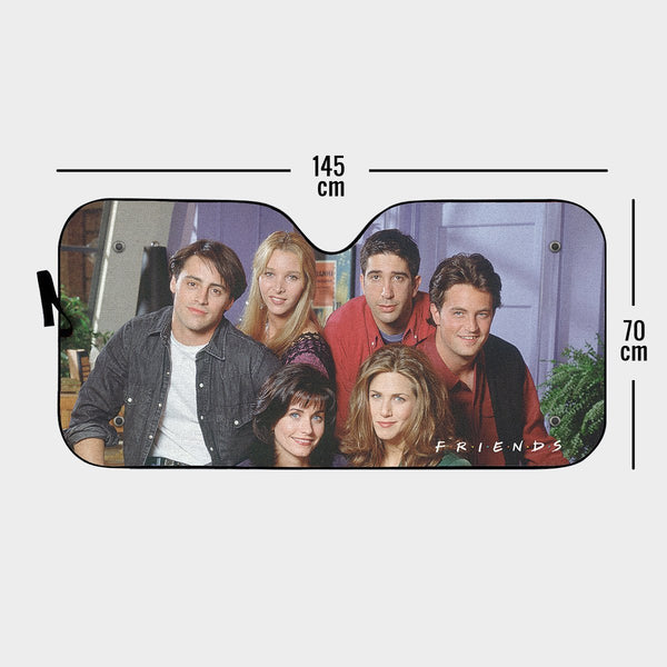 Awesome Friends Auto Sun Shade - Fandomaniax-Store