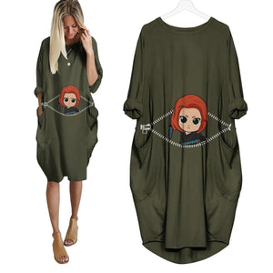 Baby Black Widow Peeking Dress - Fandomaniax-Store