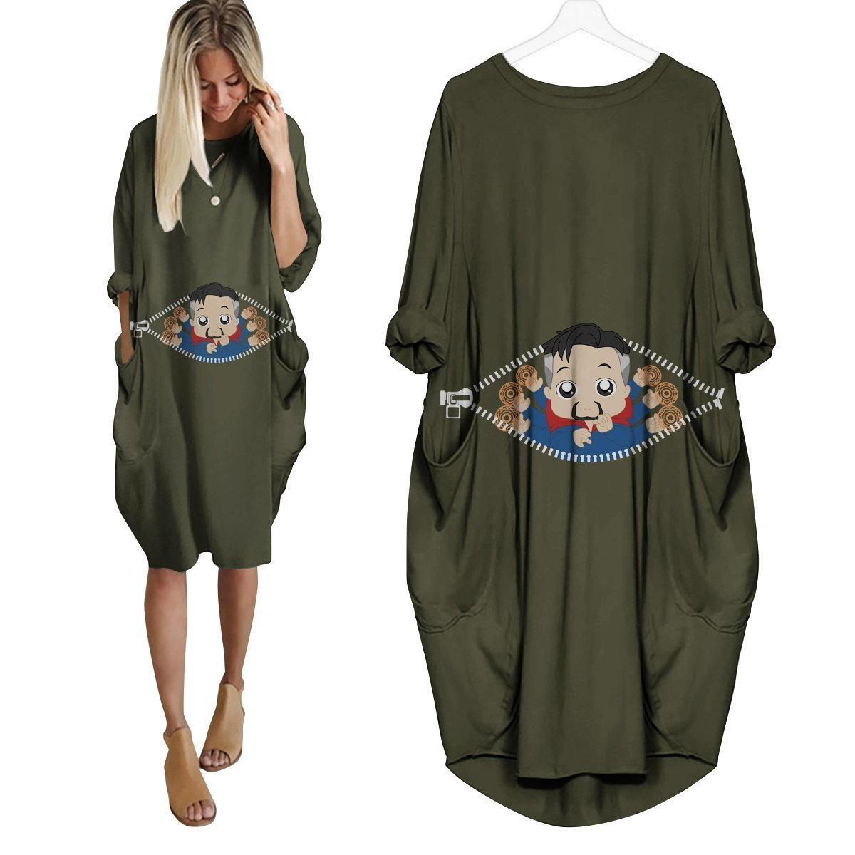 Baby Doctor Strange Peeking Dress - Fandomaniax-Store