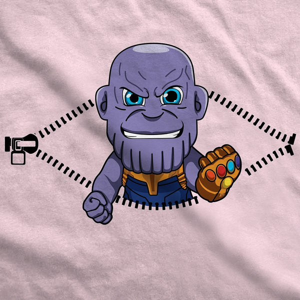 Baby Thanos Peeking Maternity T-Shirt - Fandomaniax-Store