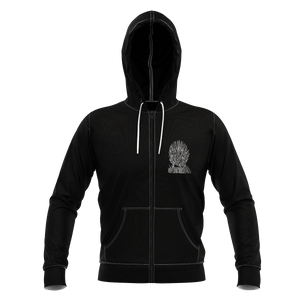 Best Dad in the Seven Kingdoms Unisex Zipped Hoodie - Fandomaniax-Store