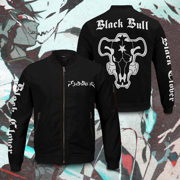 Black Bull Bomber Jacket - Fandomaniax-Store