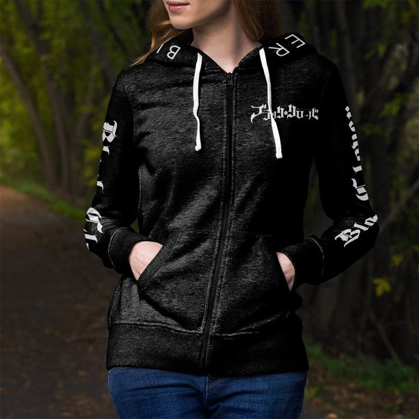 Black Bull Unisex Zipped Hoodie - Fandomaniax-Store