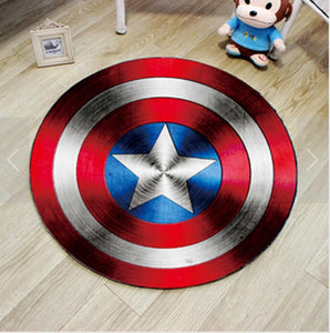 Captain America Shield Rug - Fandomaniax-Store