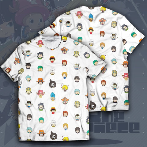 Chibi Pirates Unisex T-Shirt - Fandomaniax-Store
