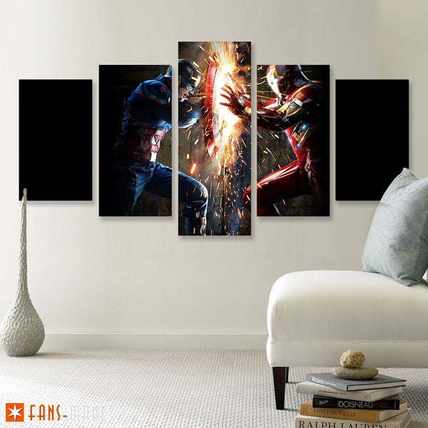 Civil 5 Piece Canvas - Fandomaniax-Store