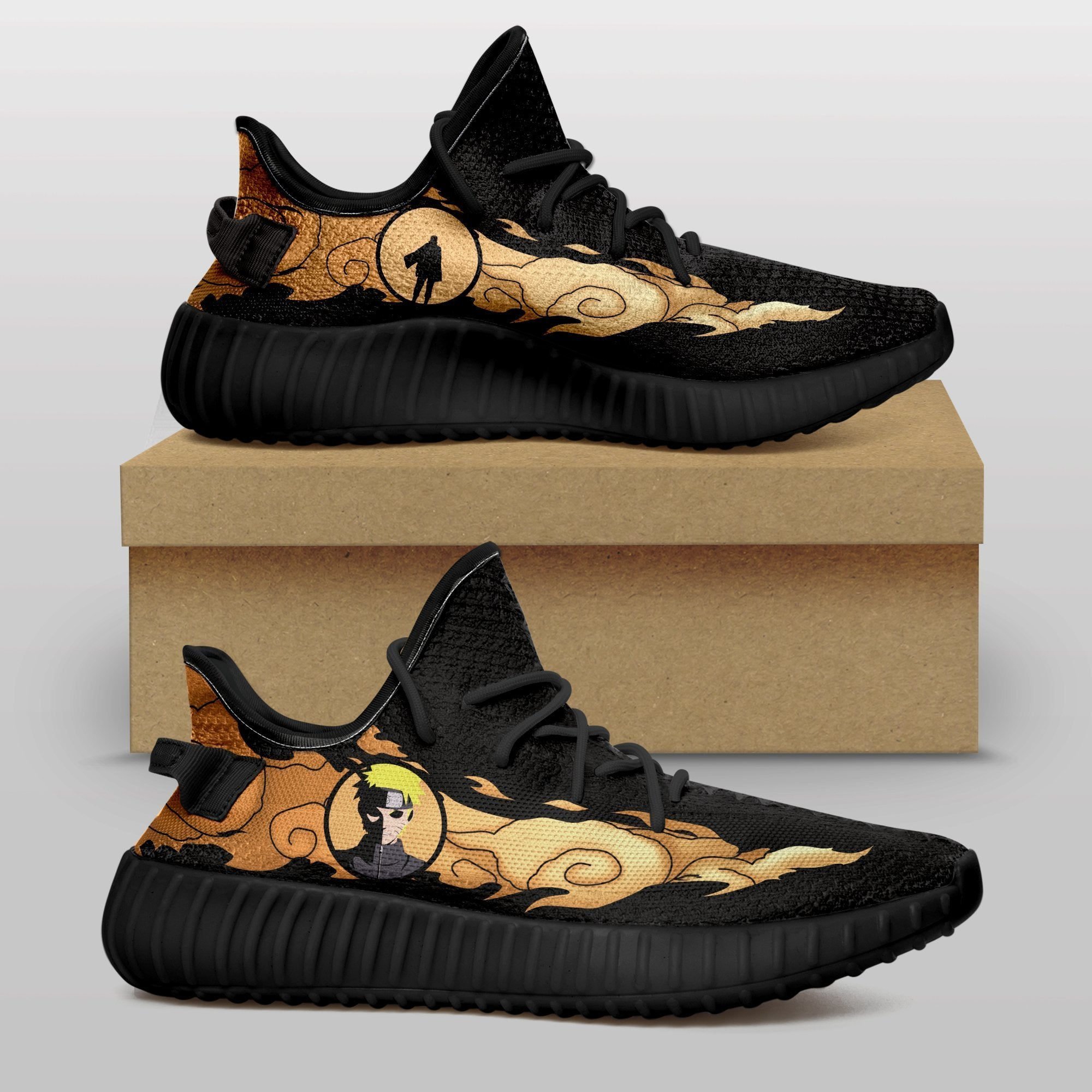 Custom Made Naruto Shoes - Fandomaniax-Store