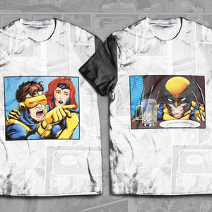 Cyclops Yelling at Wolverine Bundle - Fandomaniax-Store