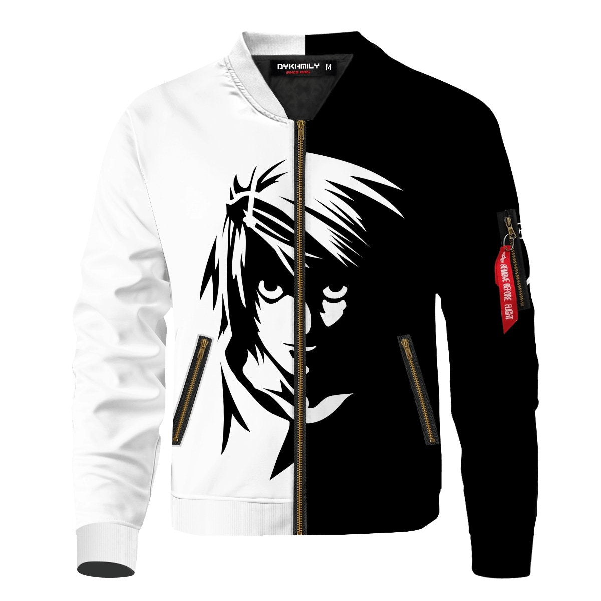 Death Note L Bomber Jacket V2 - Fandomaniax-Store