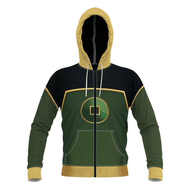 Earth Kingdom Unisex Zipped Hoodie - Fandomaniax-Store