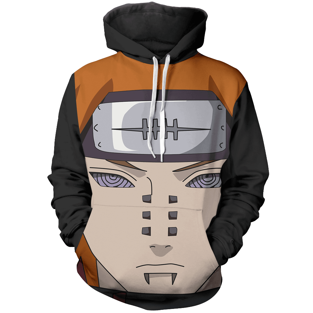 Eyes of Power: Rinnegan Unisex Pullover Hoodie - Fandomaniax-Store