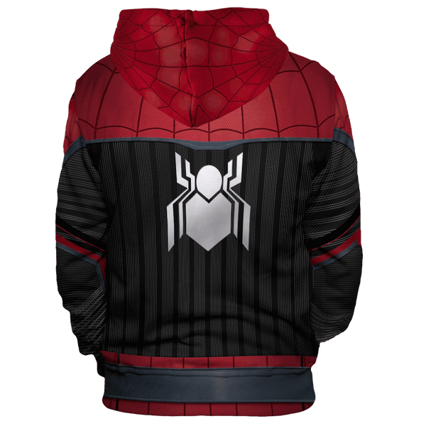 Far From Home Spidey Unisex Pullover Hoodie - Fandomaniax-Store