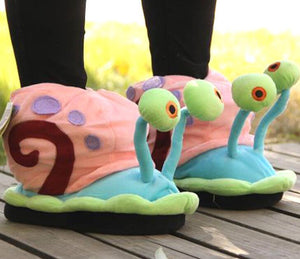 Gary the Snail Slippers - Fandomaniax-Store