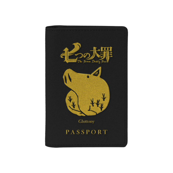 Gluttony Passport Cover - Fandomaniax-Store