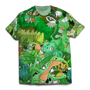 Grass Unisex T-Shirt - Fandomaniax-Store
