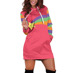 Gravity Falls Mabel Pines Cosplay Hoodie Dress - Fandomaniax-Store