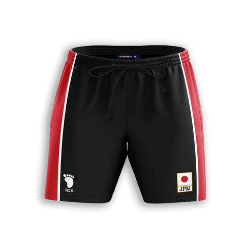 Haikyuu National Team Libero Beach Shorts - Fandomaniax-Store