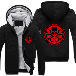 Hail Hydra Fleece Jacket - Fandomaniax-Store