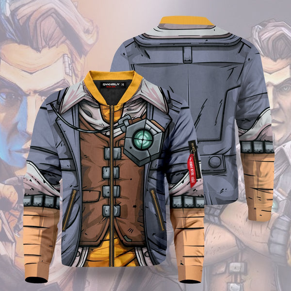 Handsome Jack Bomber Jacket - Fandomaniax-Store