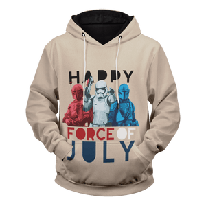 Happy Force of July Unisex Pullover Hoodie - Fandomaniax-Store