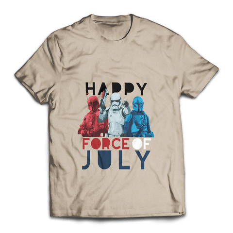 Happy Force of July Unisex T-Shirt - Fandomaniax-Store