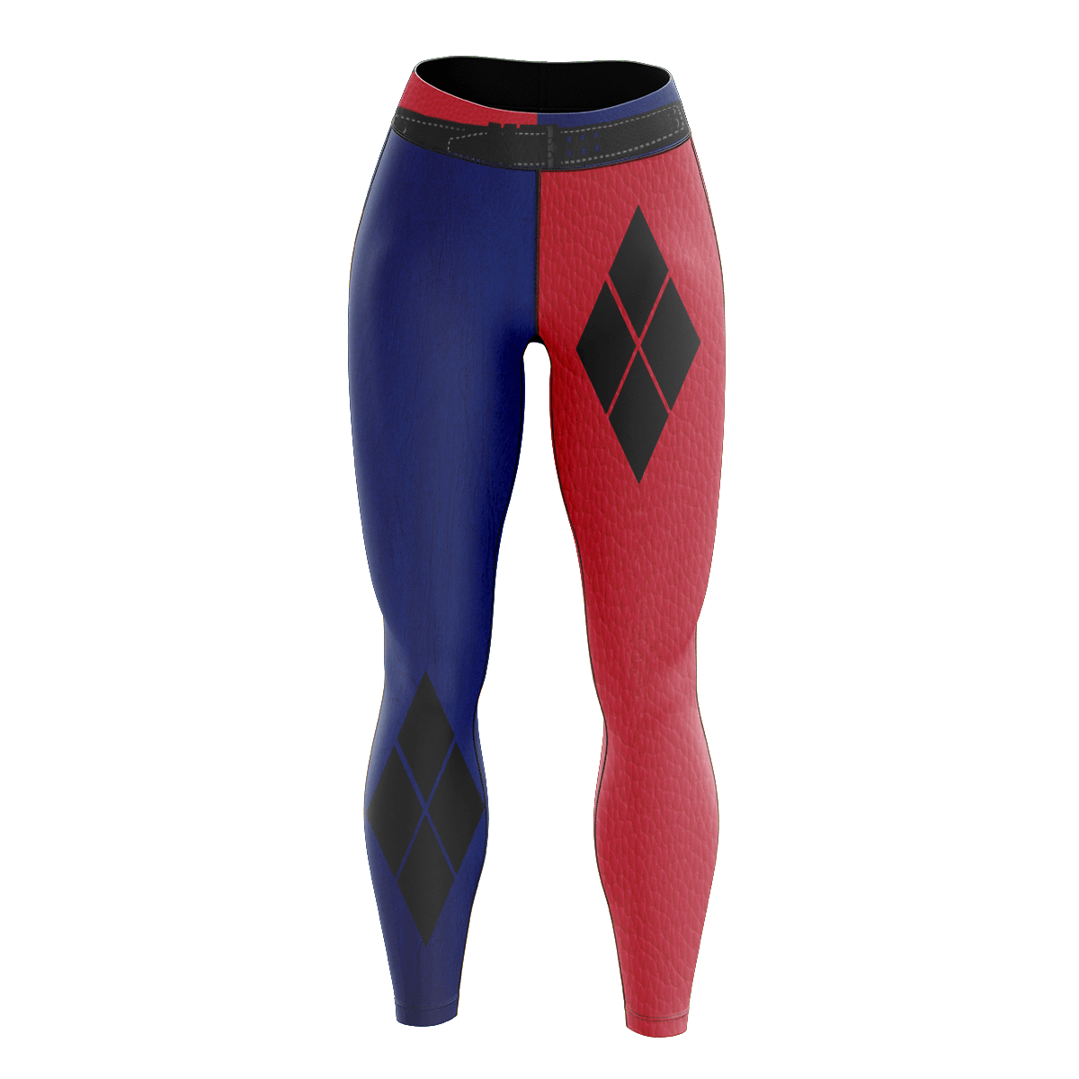 Harley Quinn Unisex Tights v2 - Fandomaniax-Store