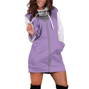 Hinata Hoodie Dress - Fandomaniax-Store