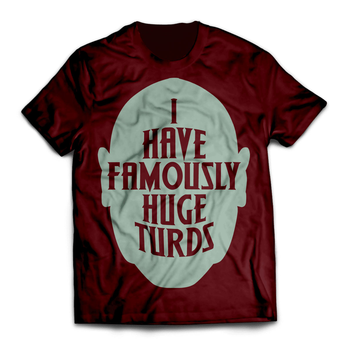 Huge Turd Unisex T-Shirt - Fandomaniax-Store