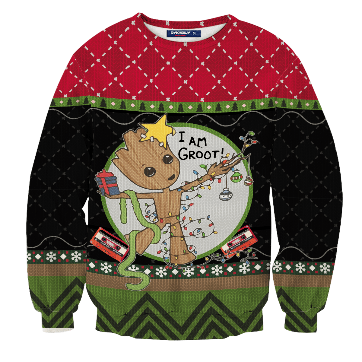 I am Groot Unisex Wool Sweater - Fandomaniax-Store