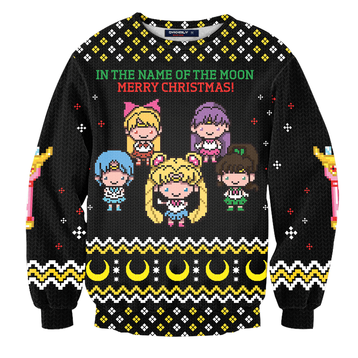 In The Name of The Moon Unisex Wool Sweater - Fandomaniax-Store