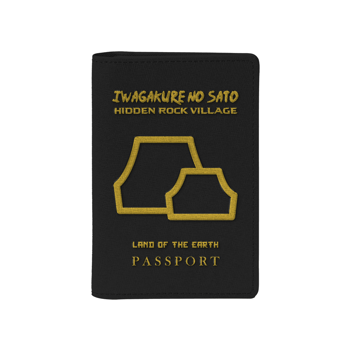 Iwagakure | Hidden Rock Village Passport Cover - Fandomaniax-Store