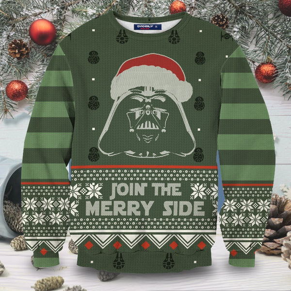 Join The Merry Side Unisex Wool Sweater - Fandomaniax-Store