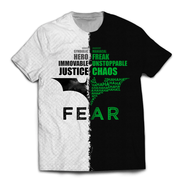 Justice and Chaos Unisex T-Shirt - Fandomaniax-Store